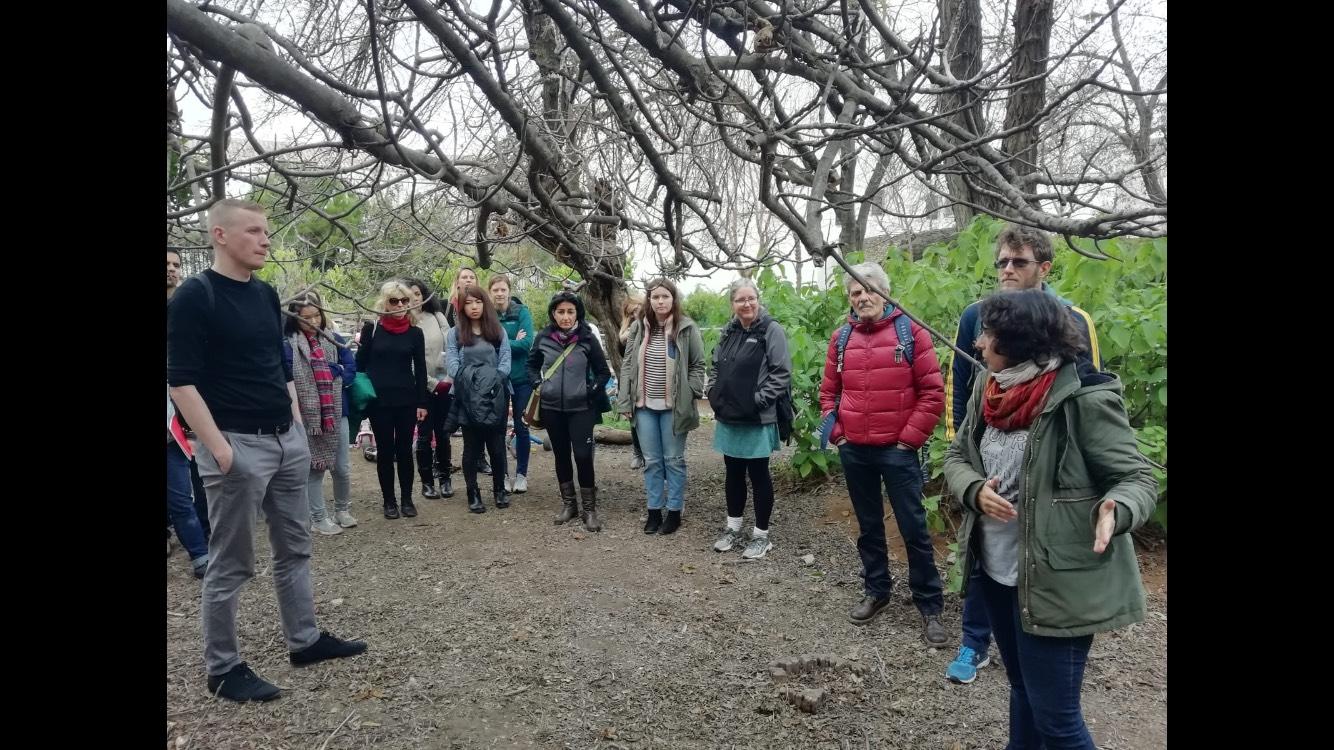 escuela Sevilla-Habla en visita